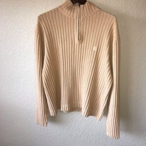 Aigle  1/4 Zip Pullover Knitted Sweater.